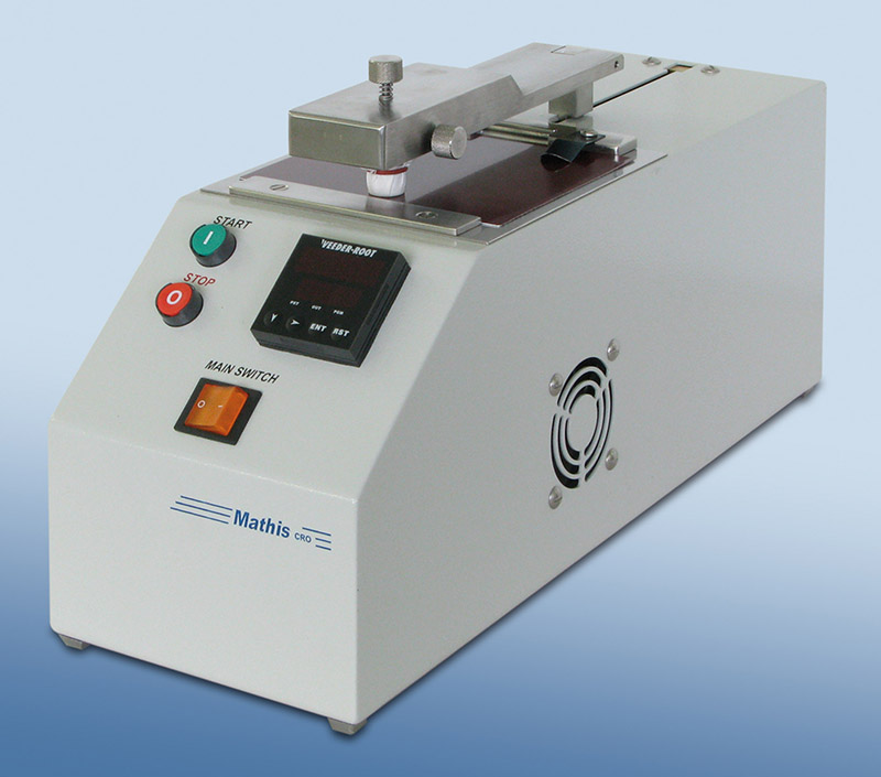 Crockmeter for color fastness type «CRO-B-P»