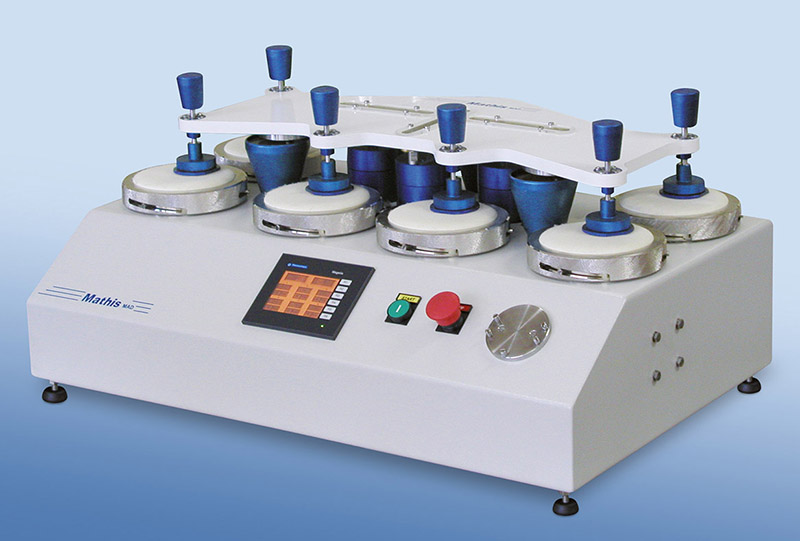 Abrasion and pilling test machine type В«MAD-BВ»